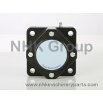 IP67 4 Hole Square Flange Bearing Unit CC