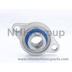 full Mini SUS Bearing Unit MUFL - Two-bolt flange units Eccentric locking collar type