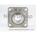 4 hole square flange unit SF in stainless steel