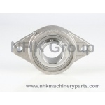 2 hole oval flange unit SFL in stainless steel
