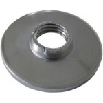 Threaded stainless steel plate for round tube (Aisi 1.4301)