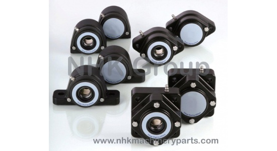 IP67 4 Hole Square Flange Bearing Unit