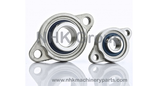 Mini stainless flange bearing units