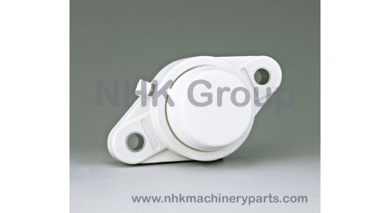 Oval 2 Bolt Flange Unit FLPL closed cover