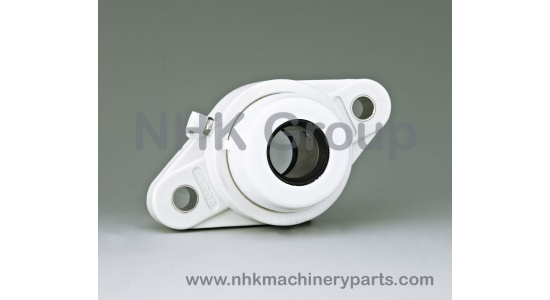Oval 2 Bolt Flange Unit FLPL open cover