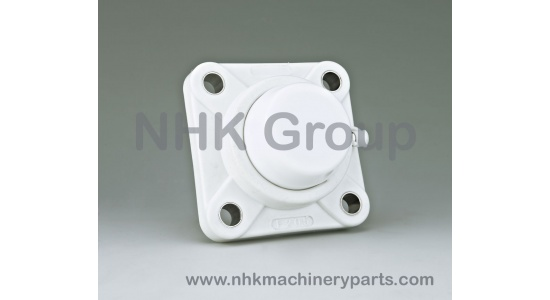 Square 4 Bolt Flange Unit FPL with closed cover
